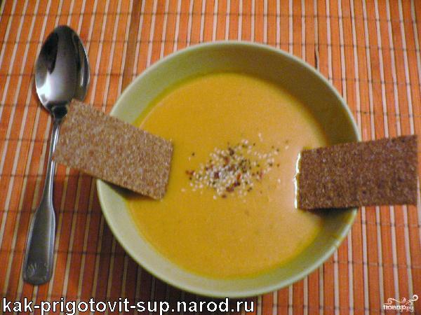 Тыквенный суп пошаговый рецепт с фото